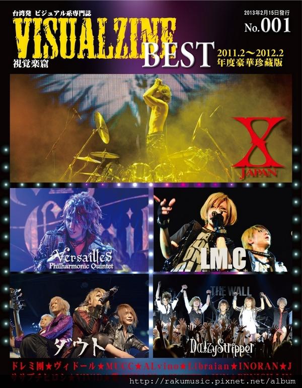 VISUALZINE BEST FRONT COVER(s)