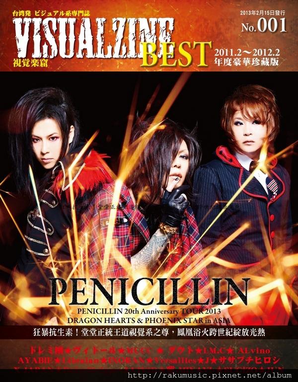 VISUALZINE BEST BACK COVER(s)