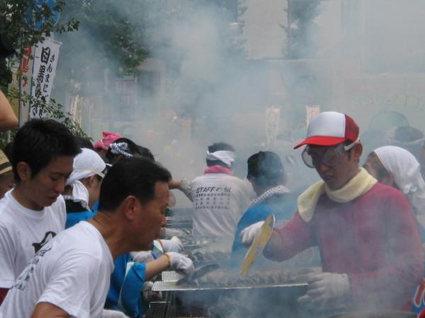 目黒秋刀魚祭り2