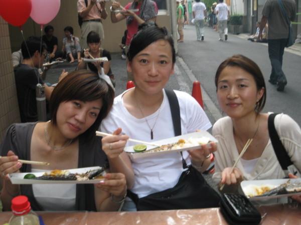 目黒秋刀魚祭り4
