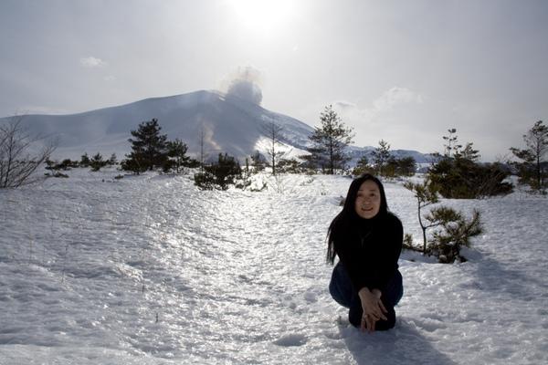 世界的中心??3月的軽井沢,雪上有光 1(by遠山藍)