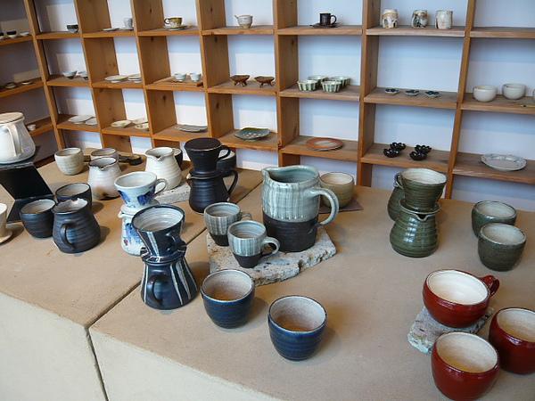 手工咖啡濾泡式陶壺