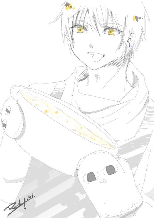 小黃瀨玉米濃湯