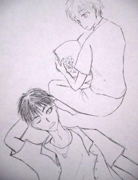 花枝與蛹 by 小圓