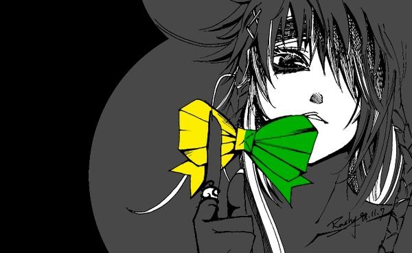 小銀黑feat.黃綠蝴蝶結
