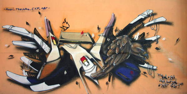 世界塗鴉作品