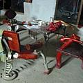 烏巴克的造型桌椅組