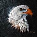 皮雕作品-領袖