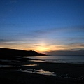 2005-07-09 內垵海灘的黃昏