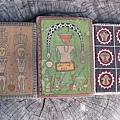 撒古流常常在作筆記,擁有豐富的圖文稿,並自己製作的筆記本.jpg