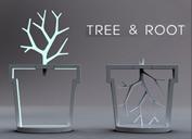 樹根燈 (Tree & Root Lamp)