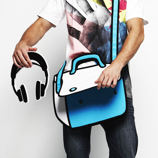 2d-cartoon-bags-jump-from-paper-2