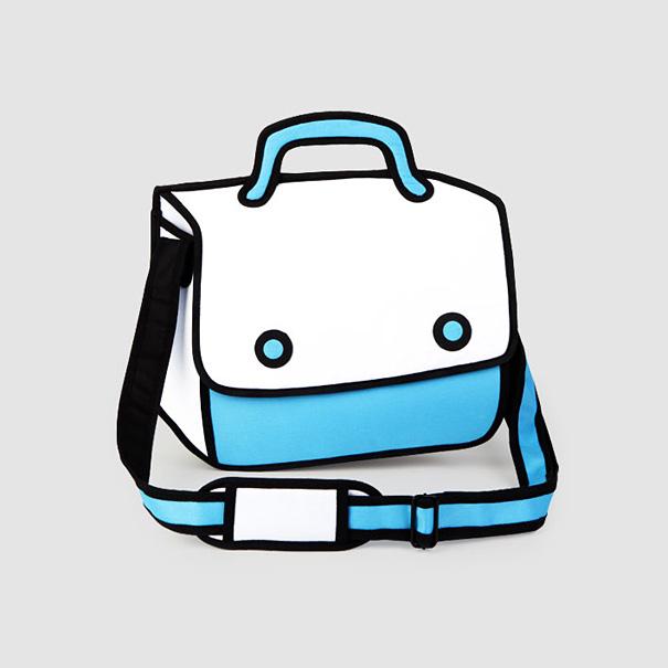 2d-cartoon-bags-jump-from-paper-1