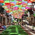 colorful-floating-umbrellas-portugal