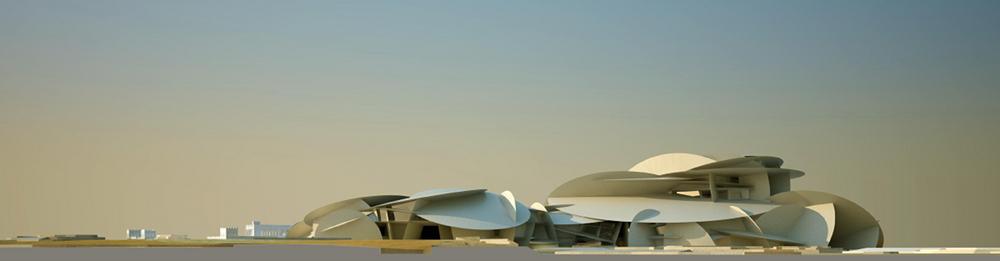 沙漠玫塊-卡達國家博物館(National Museum of Qatar)