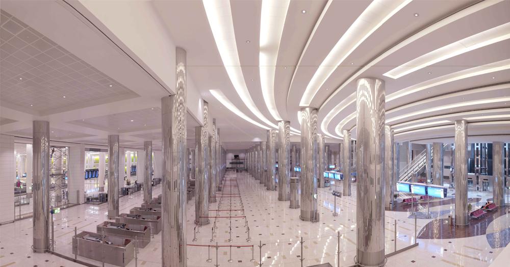 杜拜機場第三航站(Dubai International Airport Terminal 3)