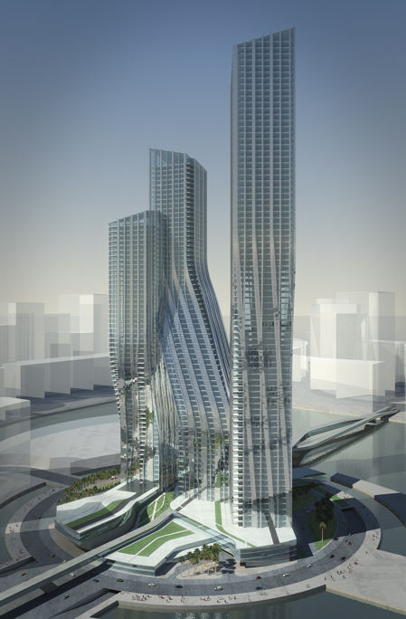 杜拜簽名塔(Dubai Signature Towers)