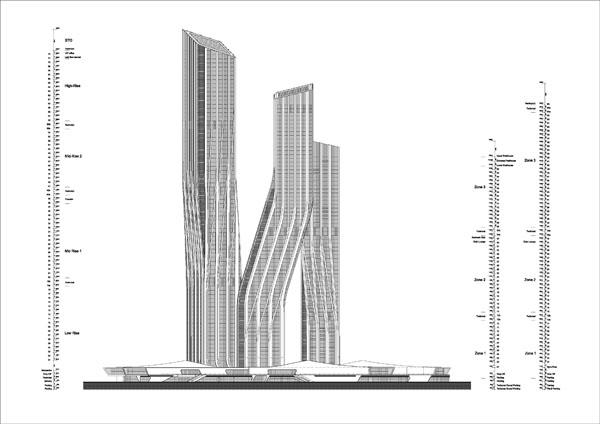杜拜簽名塔(Dubai Signature Towers)