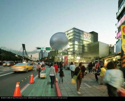 台北表演藝術中心/雷姆.庫哈斯(Taipei Performing Arts Center/Rem Koolhaas)