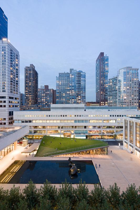 約林肯藝術中心Hypar館(Hypar Pavilion at Lincoln Center/ Diller Scofidio + Renfro with FXFowle)
