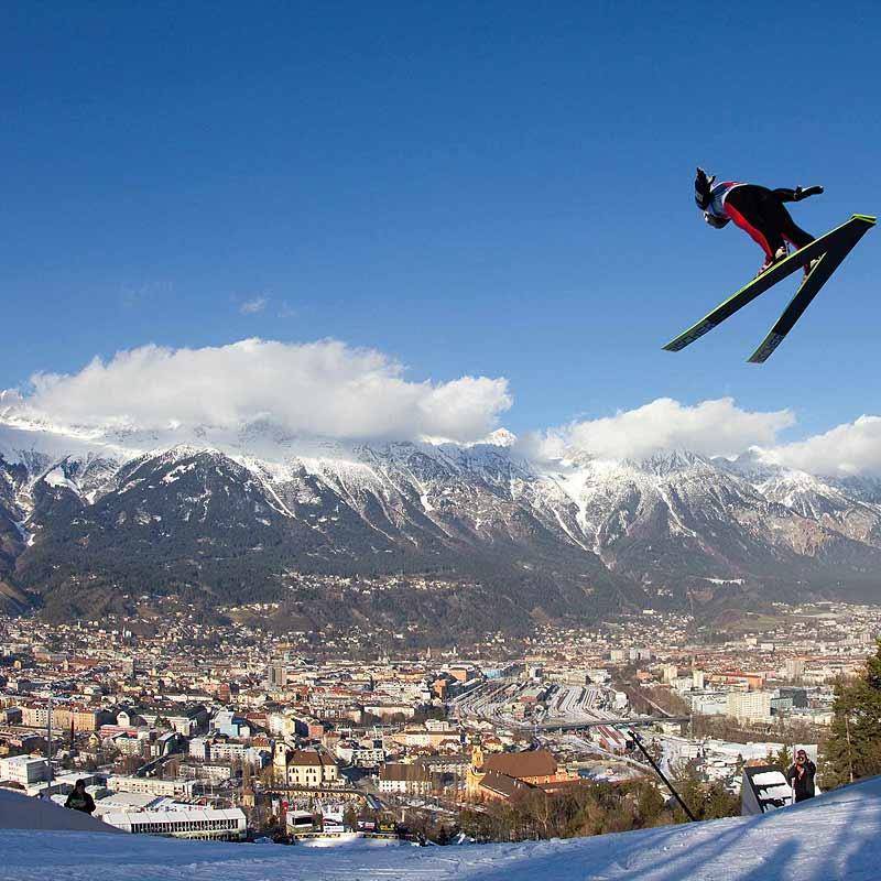 伯吉塞爾滑雪跳台(Bergisel Ski Jump/Zaha Hadid)