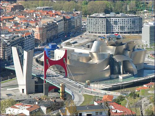 畢爾包古根漢美術館(Guggenheim Museum Bilbao/Frank Gehry)