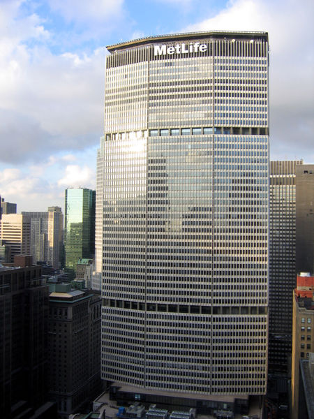 <大都會人壽大樓 MetLife Building>