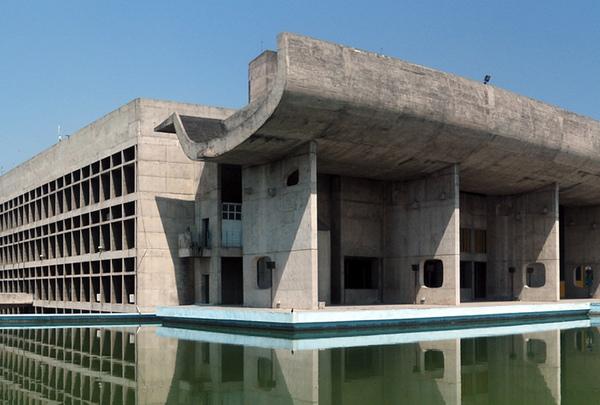 <印度昌迪加爾議會大廈 Chandigarh_Punjab Legislative Assembly>