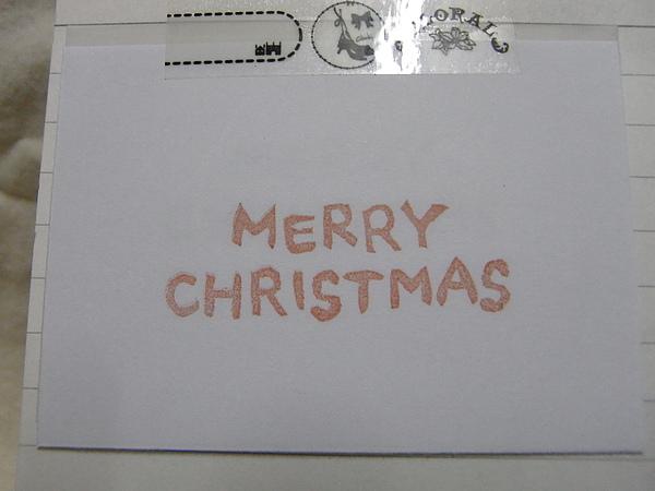 no.45聖誕系列-MERRY CHRISTMAS