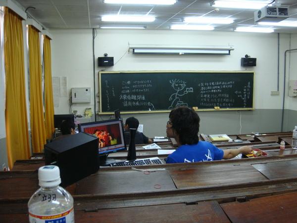 很貴的教室XD