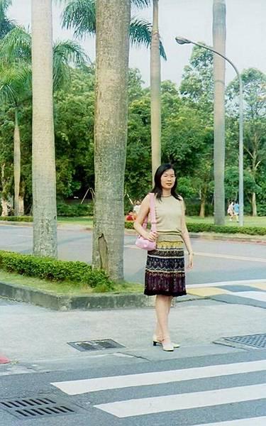 中研院的椰林大道