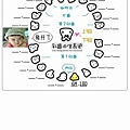 乳齒生長紀錄表