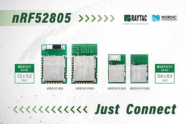 Nordic nRF52805 Module By Raytac MDBT42T%26;MDB42TV.jpg