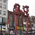 0626chinatown龍門柱