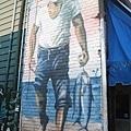 0626kenshintonmarket魚店旁的塗鴉