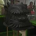 0628安省皇家博物館-日本武士的頭盔2