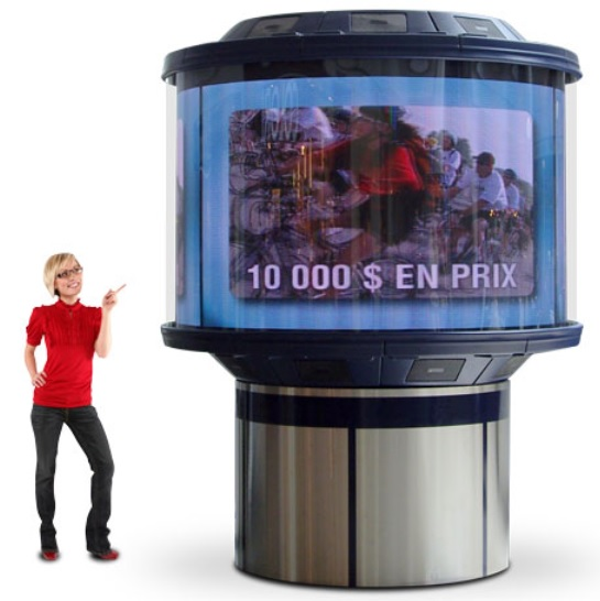 Dynascan-2012-Indoor 360° Video Display
