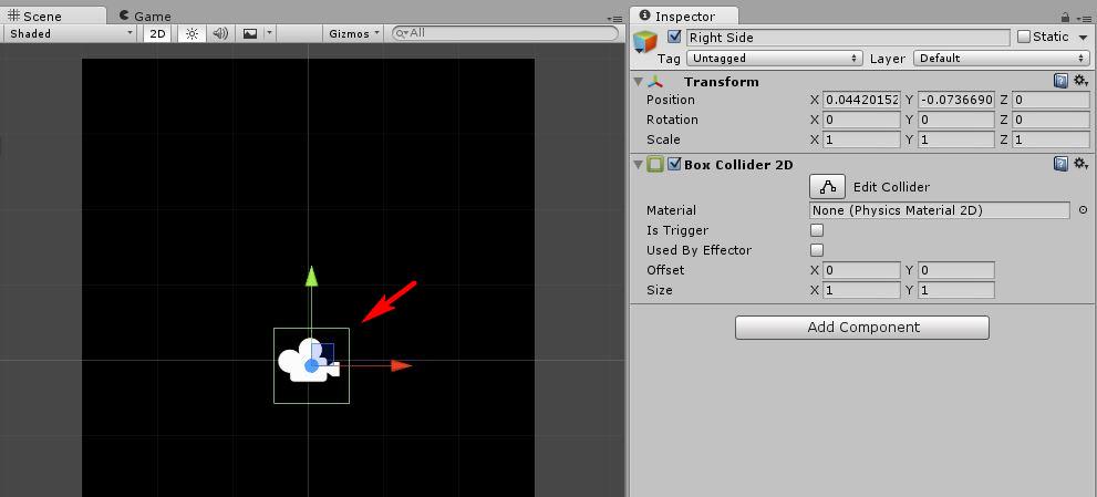 《Unity》 2D小遊戲製作教學(一)