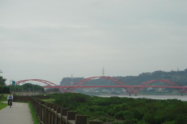 單車、濕地、關渡橋