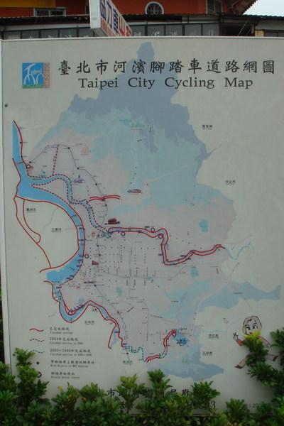 腳踏車道路網圖