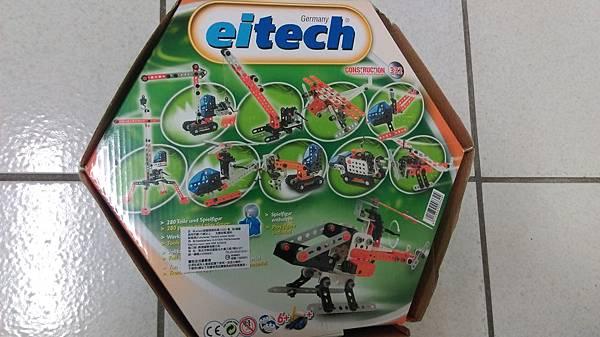 德國Eitech組合玩具 豪華十合一機具組 C326