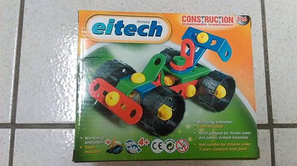德國Eitech組合玩具 衝鋒賽車 C326