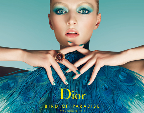 dior summer 2013 bird of paradise
