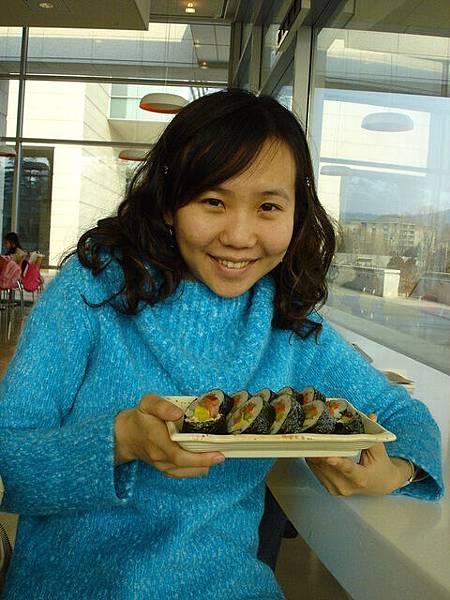 首爾歷史博物館午餐--rice roll