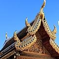 清邁  雙龍寺 屋簷2