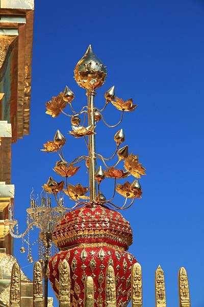 清邁  雙龍寺 裝飾