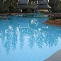 飯店裡的游泳池