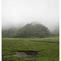 枯水期的松蘿湖