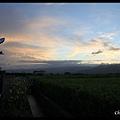 0623三訪三星--不大清楚的夕陽