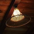 古樸的燈罩